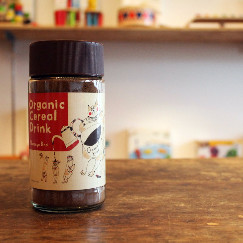 ORGANIC CEREAL COFFEE / Bottega Baci_c0222907_20511447.jpg