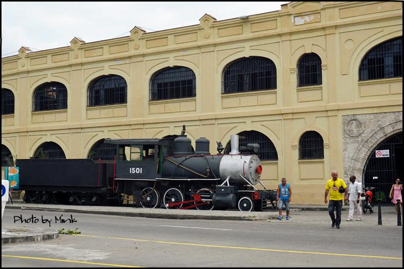 ハバナの保存機関車  キューバ最新情報16_b0019313_13400006.jpg