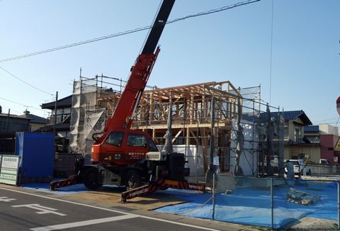 石岡の家が上棟しました。_a0059217_11321094.jpg