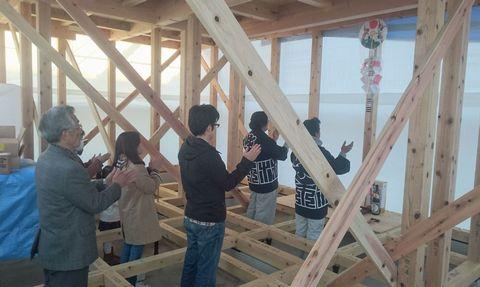 石岡の家が上棟しました。_a0059217_11322288.jpg