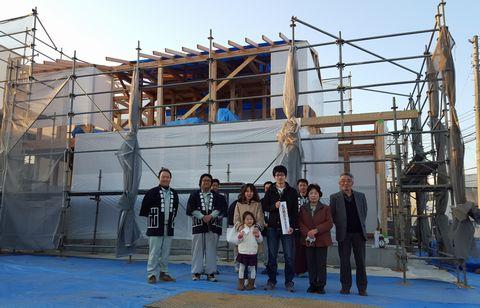 石岡の家が上棟しました。_a0059217_11323144.jpg