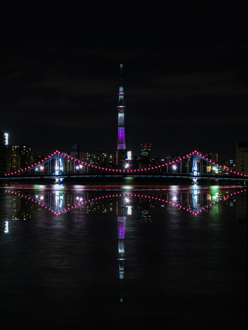 2016.3.26隅田川と東京駅の夜景_e0321032_21165168.jpg