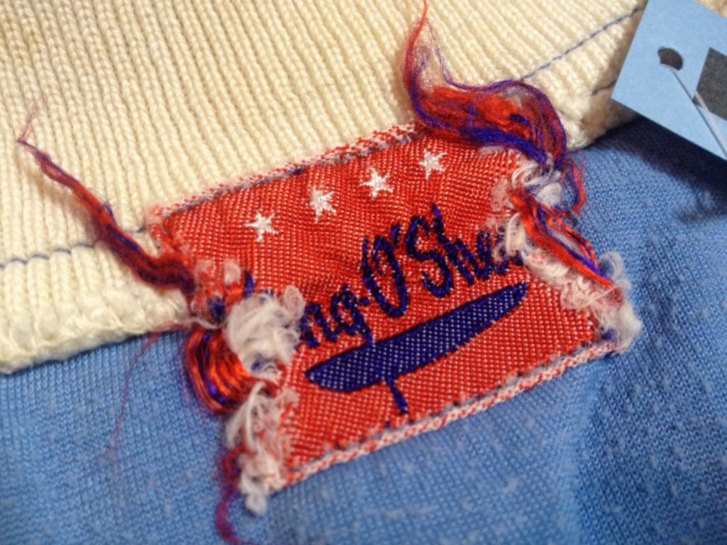 神戸店3/30(水)春物アイテム&服飾雑貨入荷!#3 Vintage Baseball Shirt,S/S Sweat!!!(T.W.神戸店) _c0078587_1443335.jpg