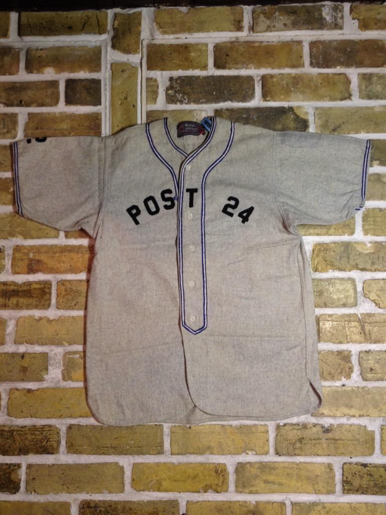 神戸店3/30(水)春物アイテム&服飾雑貨入荷!#3 Vintage Baseball Shirt,S/S Sweat!!!(T.W.神戸店) _c0078587_14462712.jpg