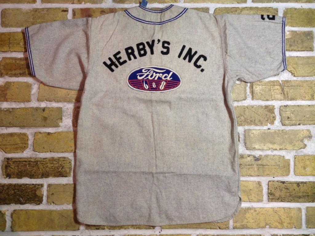 神戸店3/30(水)春物アイテム&服飾雑貨入荷!#3 Vintage Baseball Shirt,S/S Sweat!!!(T.W.神戸店) _c0078587_14463910.jpg