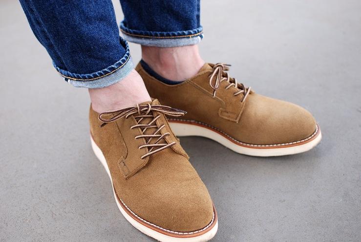 春の靴散歩。 レッドウィング ポストマン RW3104_b0168993_18515062.jpg