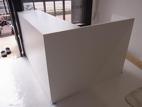某美容室の家具取り付けです。_b0186200_22525415.jpg