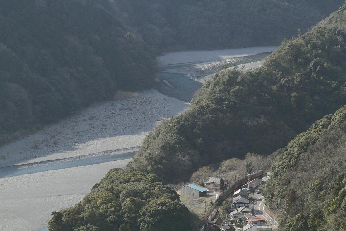 午後の大井川 - 2016年早春・大井川 -    _b0190710_22543223.jpg