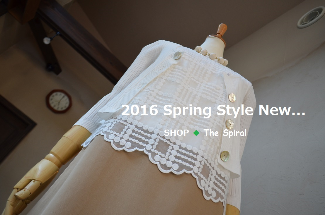 """2016 Spring Style New... 3/28mon\""_d0153941_17315189.jpg"