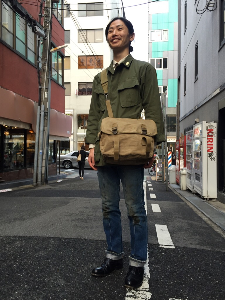 神戸店3/30(水)春物アイテム&服飾雑貨入荷!#4 Military Wear&Bag,Denim Item!!!(T.W.神戸店) _c0078587_1913543.jpg