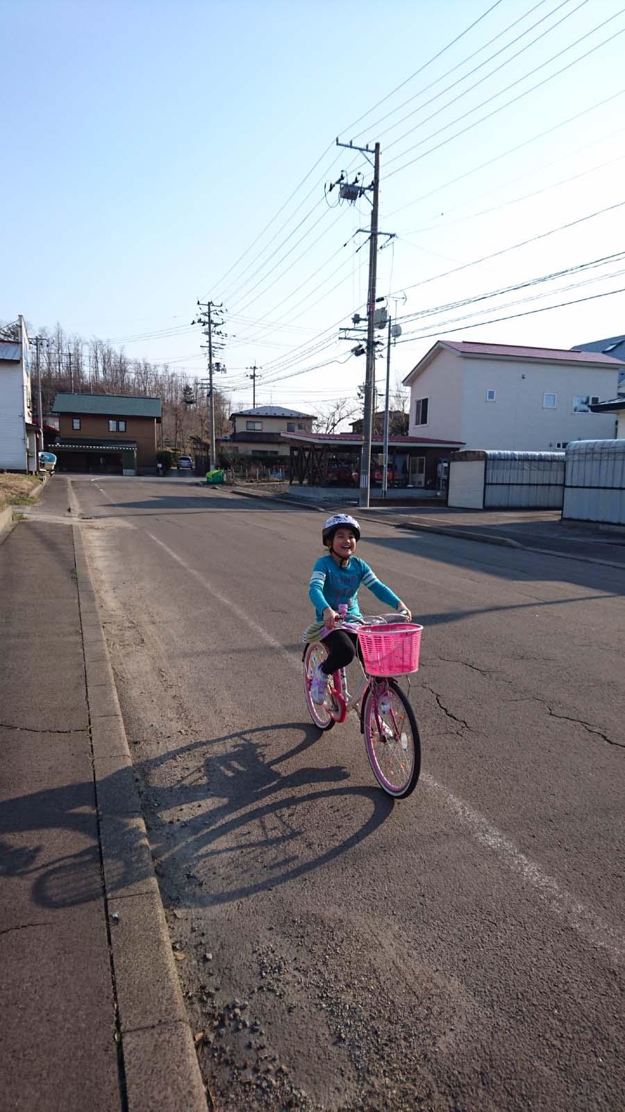 待望の自転車乗り!_f0150893_18575664.jpg