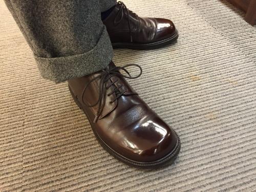 かわいらしい靴にも、ハイシャイン☆☆☆_d0166598_20072691.jpg