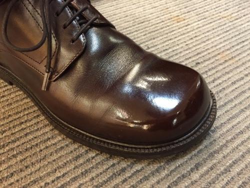 かわいらしい靴にも、ハイシャイン☆☆☆_d0166598_20413409.jpg