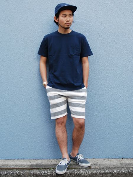 【DELIVERY】 STANDARD CALIFORNIA - Pile Border Shorts!_a0076701_190210.jpg