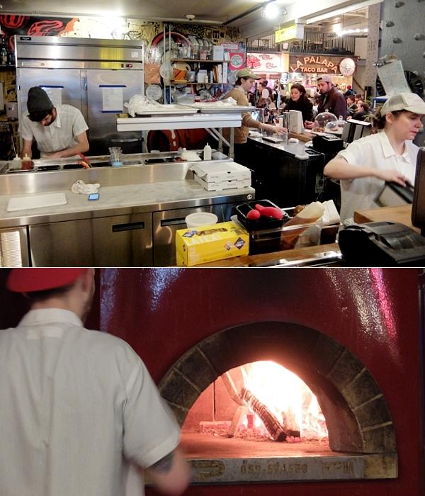 NYのフードコート、アーバンスペース・ヴァンダービルトで食べられるミシュラン掲載店のピザ Roberta\'s_b0007805_3442562.jpg