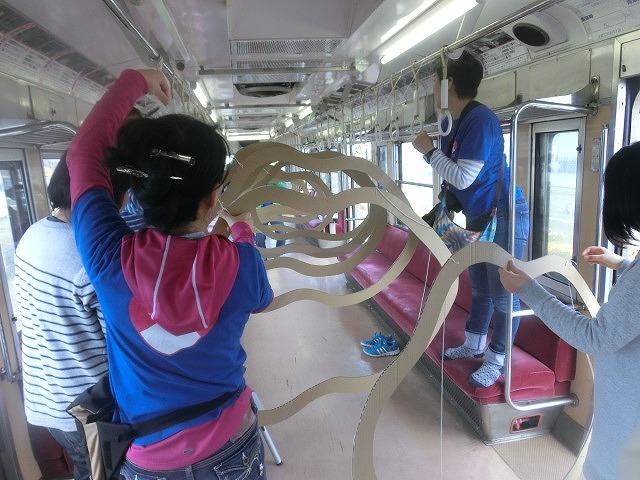 岳鉄に「夢をのせて」 アートステーション・イン・岳電_f0141310_750599.jpg