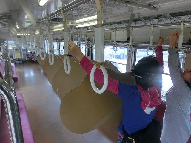 岳鉄に「夢をのせて」 アートステーション・イン・岳電_f0141310_7511089.jpg