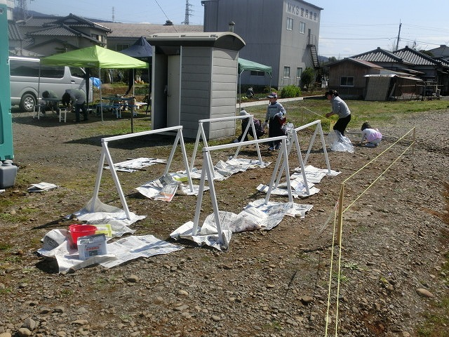 岳鉄に「夢をのせて」 アートステーション・イン・岳電_f0141310_7523091.jpg