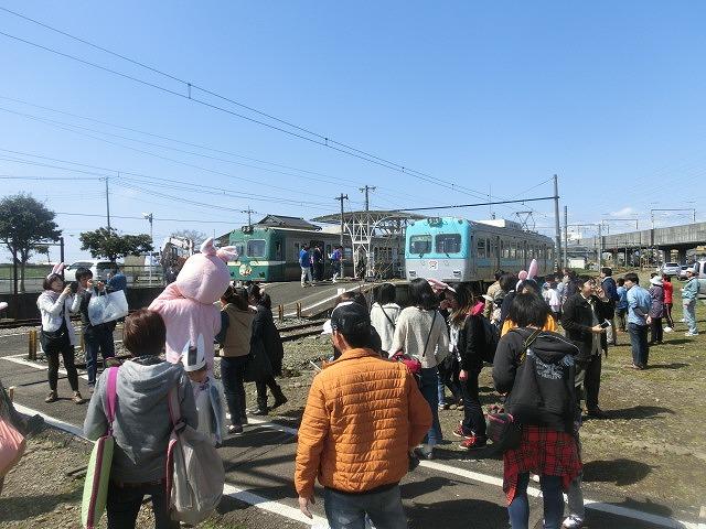 岳鉄に「夢をのせて」 アートステーション・イン・岳電_f0141310_7533675.jpg