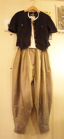 CHANEL Jacket: Kenzo pants_f0144612_13221853.jpg