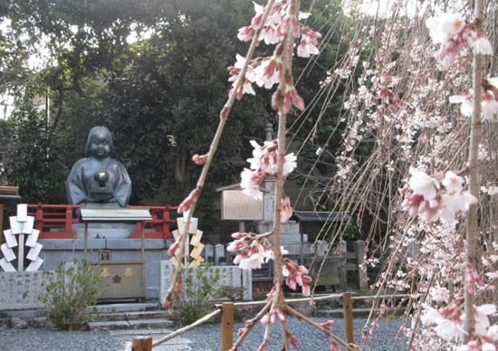 2016 桜だより12 千本釈迦堂_e0048413_2182778.jpg