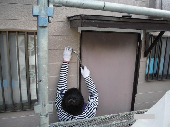 屋根葺き直し、雨樋取替、外壁塗替え ~ 波板、雨樋取替。_d0165368_547407.jpg