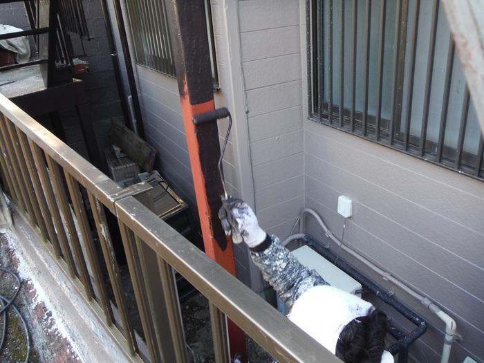 屋根葺き直し、雨樋取替、外壁塗替え ~ 波板、雨樋取替。_d0165368_549874.jpg