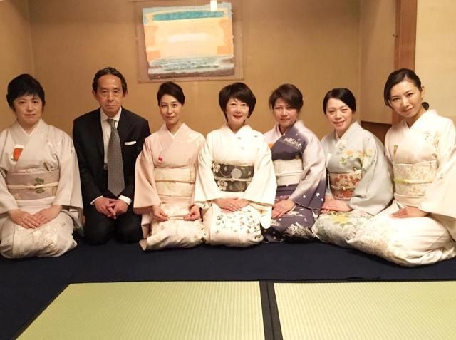「佳翠会」発足♪はじめての茶会♪@柿傳_a0138976_16523093.jpg