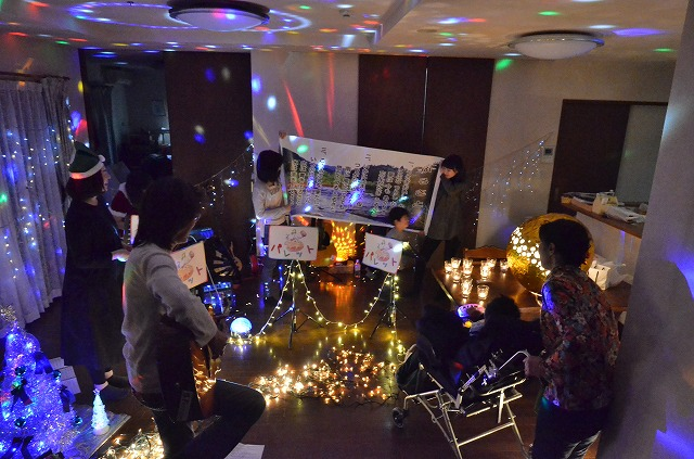2月20日、在宅のNoriくん宅で、「クリスマスカムバーック」ライブをしました♪_e0188087_11221072.jpg