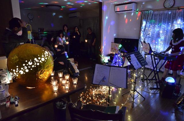 2月20日、在宅のNoriくん宅で、「クリスマスカムバーック」ライブをしました♪_e0188087_11414887.jpg