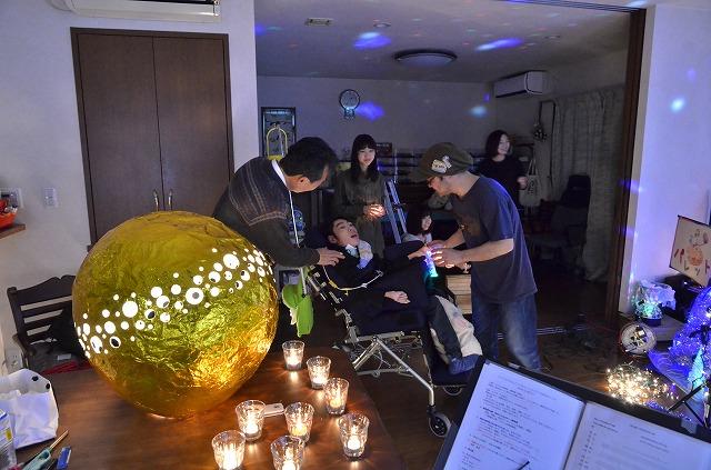 2月20日、在宅のNoriくん宅で、「クリスマスカムバーック」ライブをしました♪_e0188087_11422432.jpg