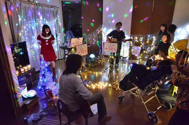 2月20日、在宅のNoriくん宅で、「クリスマスカムバーック」ライブをしました♪_e0188087_13502957.jpg