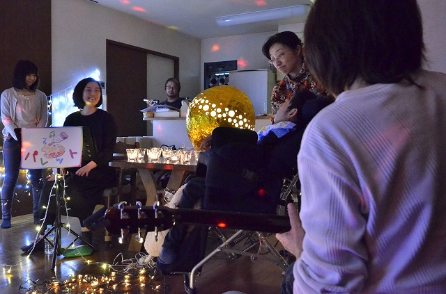2月20日、在宅のNoriくん宅で、「クリスマスカムバーック」ライブをしました♪_e0188087_13562166.jpg