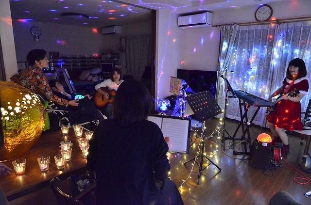 2月20日、在宅のNoriくん宅で、「クリスマスカムバーック」ライブをしました♪_e0188087_13563995.jpg