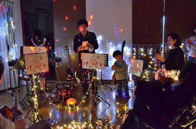 2月20日、在宅のNoriくん宅で、「クリスマスカムバーック」ライブをしました♪_e0188087_1359447.jpg