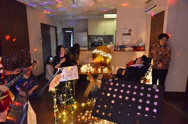 2月20日、在宅のNoriくん宅で、「クリスマスカムバーック」ライブをしました♪_e0188087_1359455.jpg