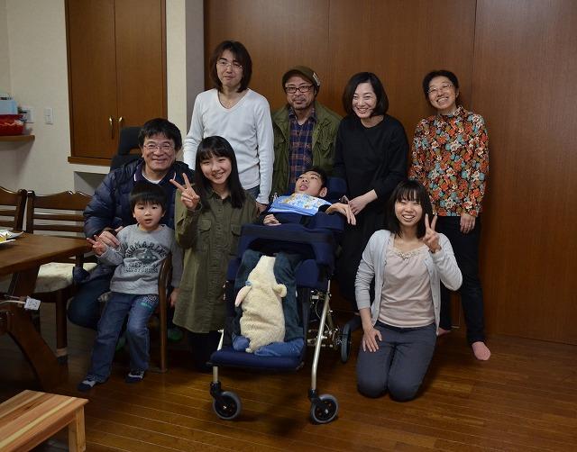 2月20日、在宅のNoriくん宅で、「クリスマスカムバーック」ライブをしました♪_e0188087_142490.jpg