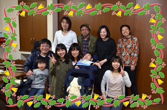 2月20日、在宅のNoriくん宅で、「クリスマスカムバーック」ライブをしました♪_e0188087_1491631.jpg