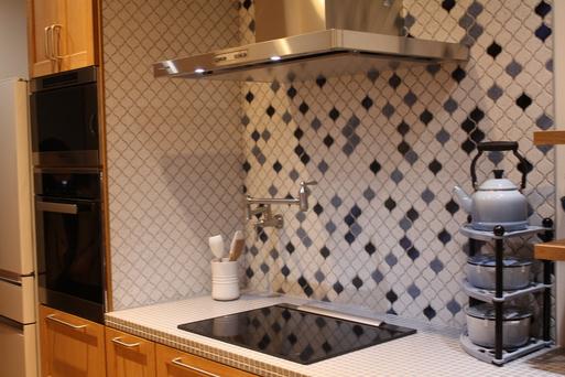 タイルde綺麗なキッチン_a0155290_14393220.jpg