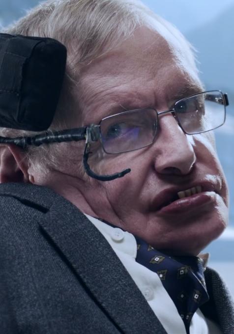 スティーヴン・ホーキング博士、なんと74歳で夢を叶えて高級車ジャガーのテレビCMにご出演!?_b0007805_11364742.jpg