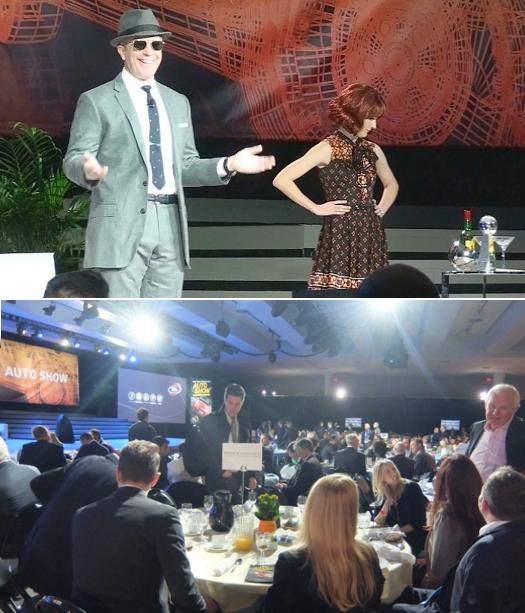 NYオートショー、米国の年間最優秀自動車テレビCM賞の表彰式 10th Annual Automotive Advertising Awards _b0007805_6335990.jpg