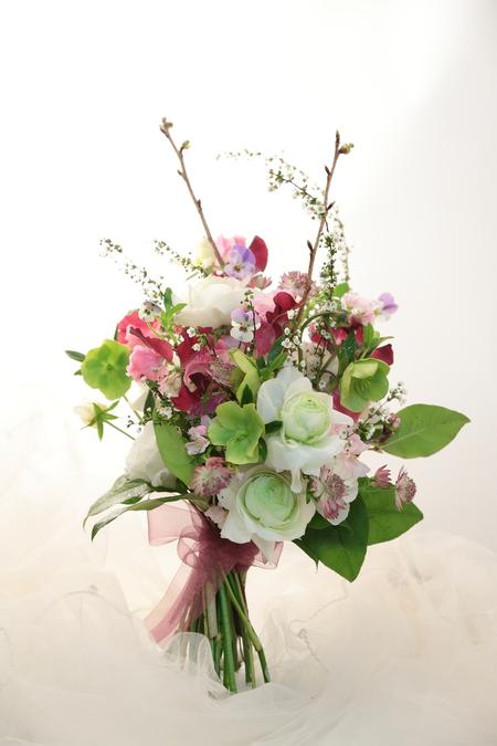 3月定期スクール 春の花、春の枝_a0042928_22255045.jpg