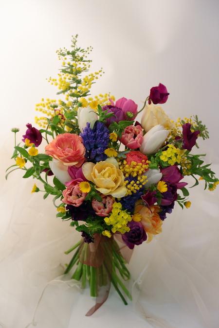3月定期スクール 春の花、春の枝_a0042928_22351012.jpg