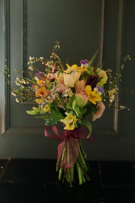 3月定期スクール 春の花、春の枝_a0042928_22373397.jpg