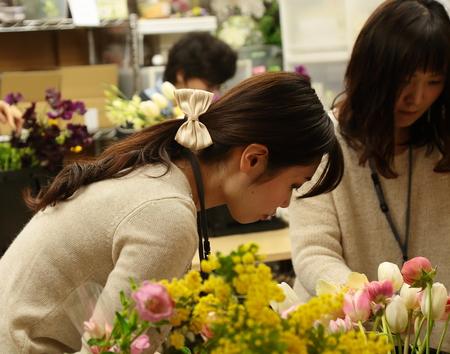 3月定期スクール 春の花、春の枝_a0042928_22395273.jpg