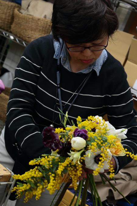 3月定期スクール 春の花、春の枝_a0042928_22402319.jpg