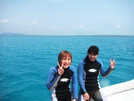 キレイな海でライセンス講習☆_a0189838_23305988.jpg