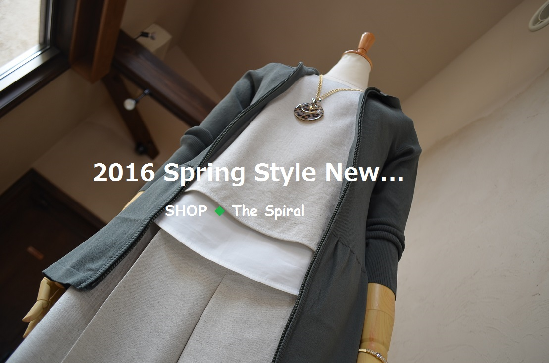 """""""2016 Spring Style New... 3/30wed\""""_d0153941_16451087.jpg"""