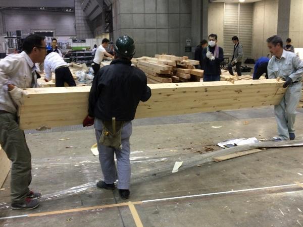 ジャパン建材フェア 撤収_c0019551_15454638.jpg