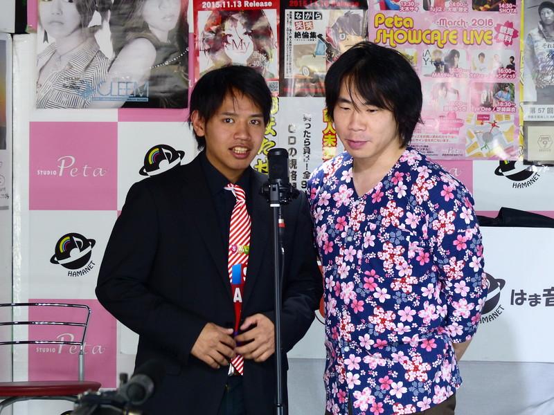 スタジオペタ お笑いライブ 3/20_d0079764_1582678.jpg